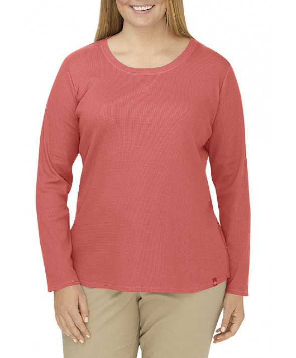 Dickies women's shirts FLW078FC - Coral Reef