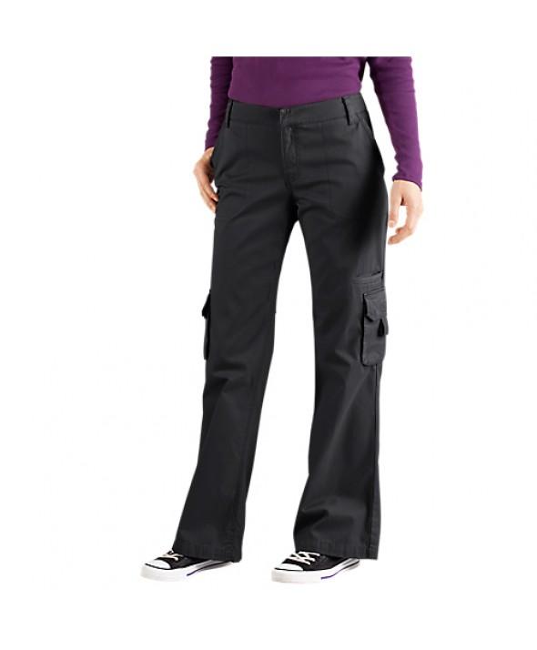 Dickies women's pants FP777RBK - Rinsed Black