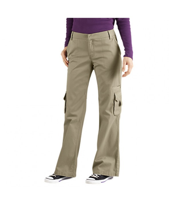 Dickies women's pants FP777RDS - Rinsed Desert Sand