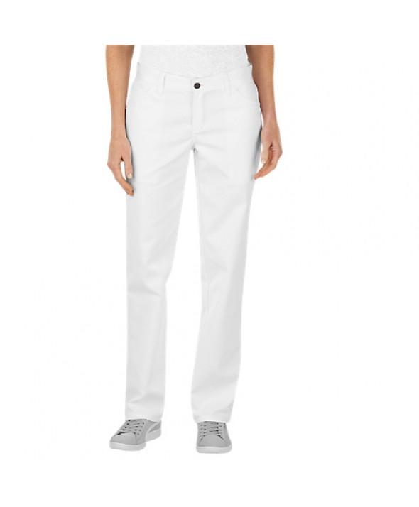 Dickies women's pants FP820WH - White