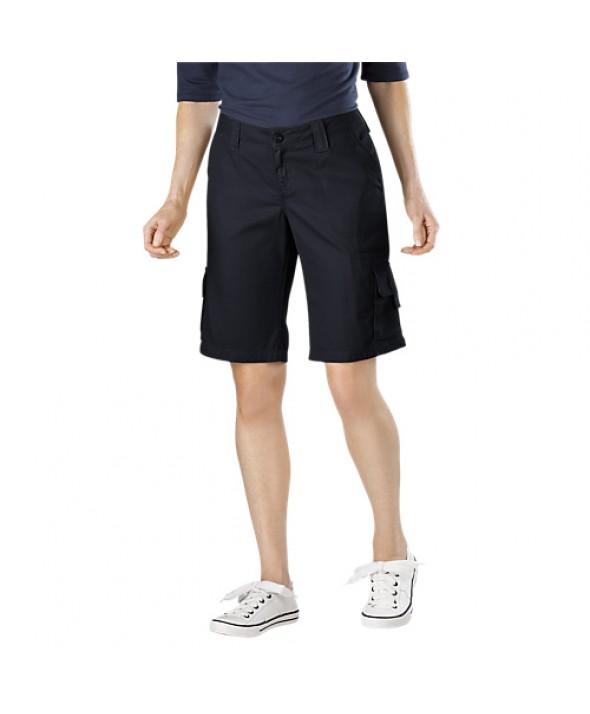 Dickies women's shorts FR327RBK - Rinsed Black