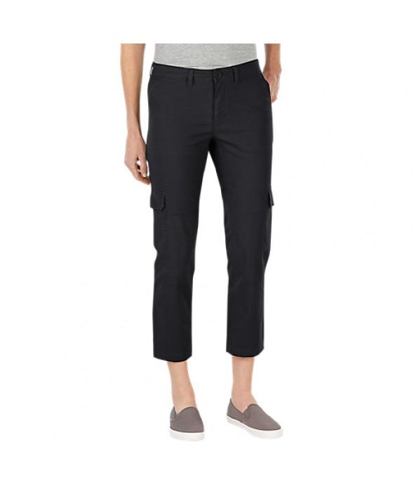 Dickies women's shorts FR343RBK - Rinsed Black