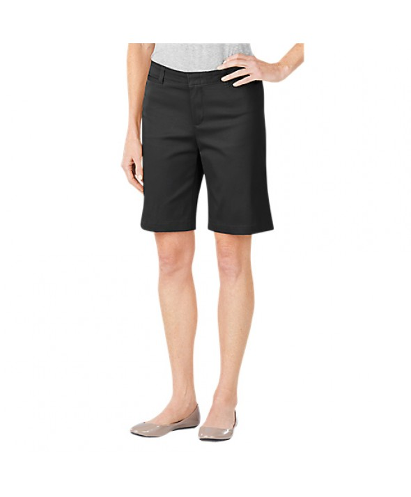 Dickies women's shorts FR604BK - Black