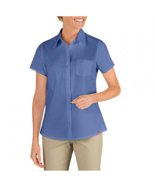 Dickies women's shirts FS086FB - French Blue