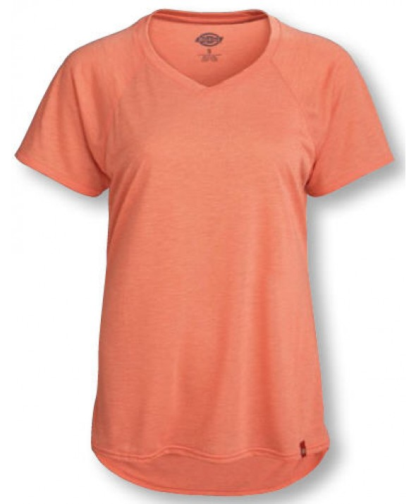 Dickies women's shirts FS094OOH - Coral Fusion Heather