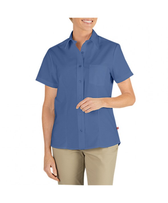 Dickies industrial women's shirts FS254FB - French Blue