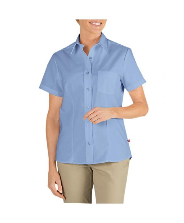 Dickies industrial women's shirts FS254LB - Light Blue