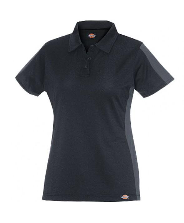 Dickies women's shirts FS424BKCH - Black/charcoal