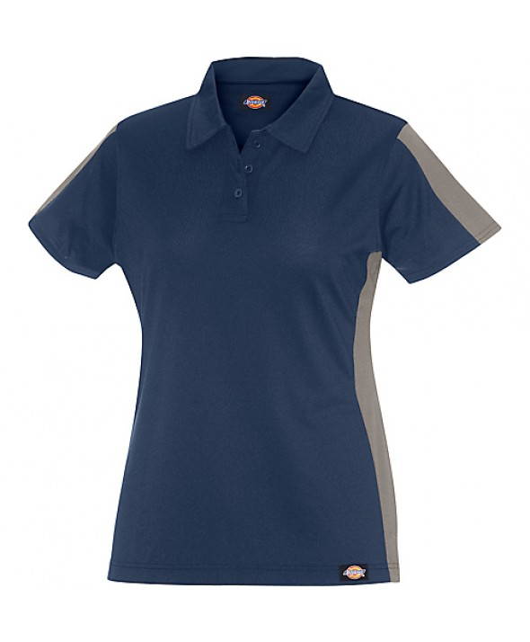 Dickies women's shirts FS424DNSM - Dark Navy/smoke