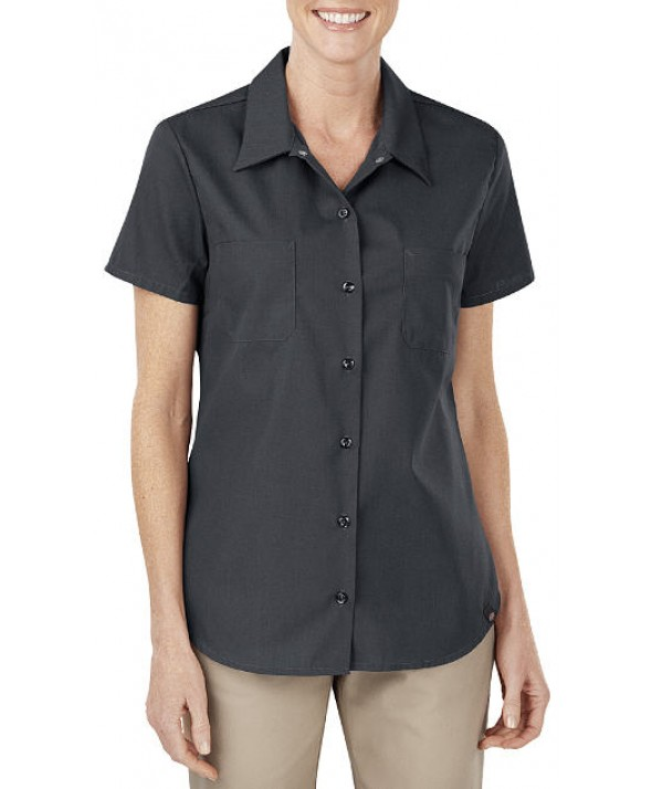 Dickies women's shirts FS5350DC - Dow Charcoal