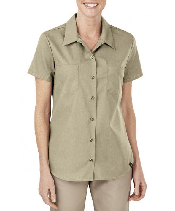 Dickies women's shirts FS5350DS - Desert Sand