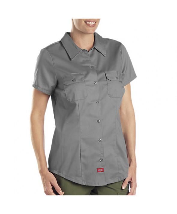 Dickies women's shirts FS574GA - Graphite