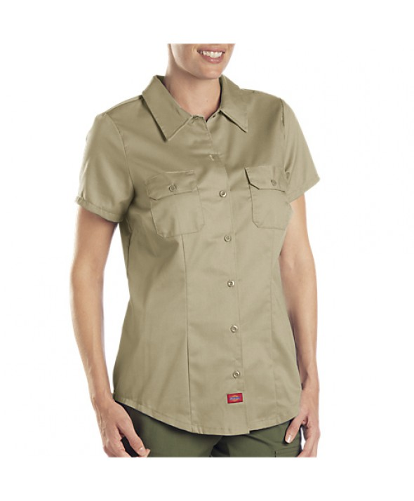 Dickies women's shirts FS574KH - Khaki