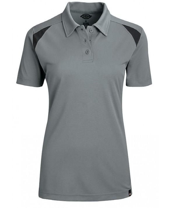 Dickies women's shirts FS606SMBK - Smoke/ Black