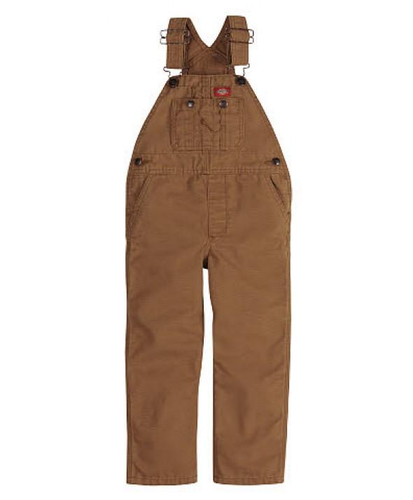 Dickies boy's pants KB203RBD - Rinsed Brown Duck