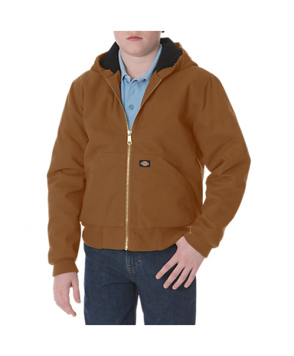 Dickies boy's jackets KJ101BD - Brown Duck