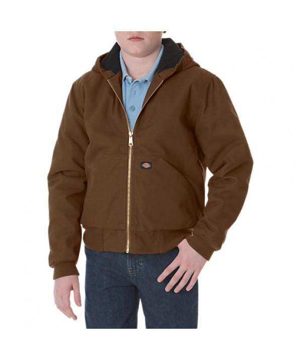 Dickies boy's jackets KJ101TB - Timber Brown