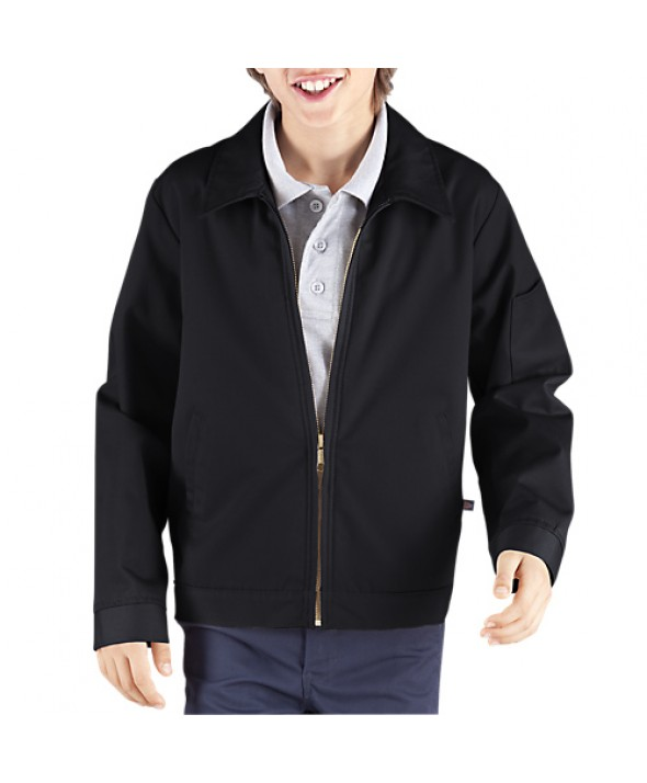Dickies boy's jackets KJ903RBK - Rinsed Black