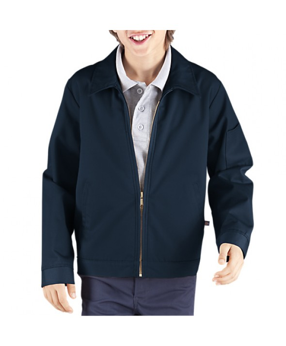 Dickies boy's jackets KJ903RDN - Rinsed Dark Navy