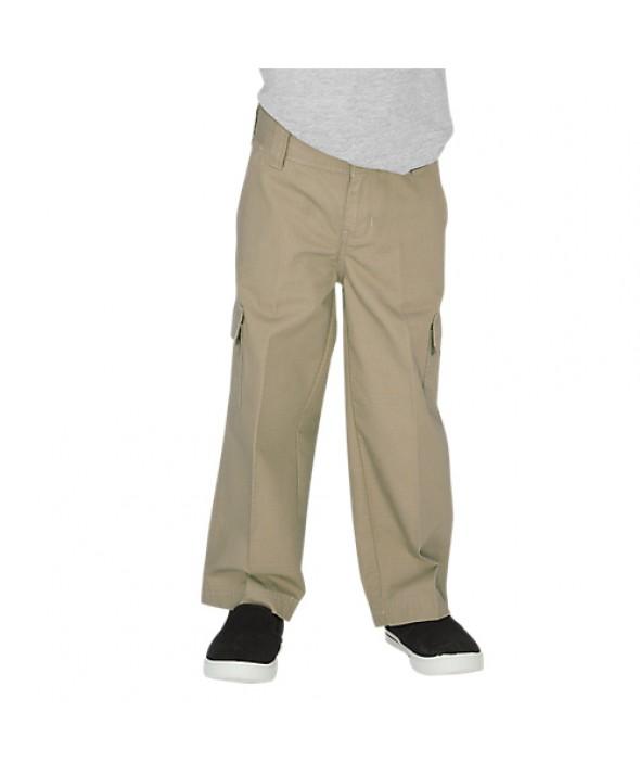 Dickies boy's pants KP2414RDS - Rinsed Desert Sand