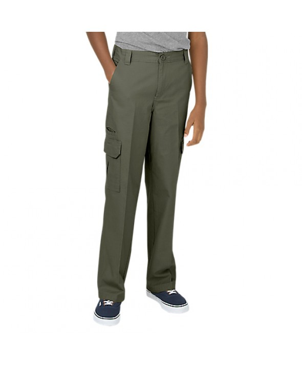 Dickies women's pants KP414RMS - Rinsed Moss Green