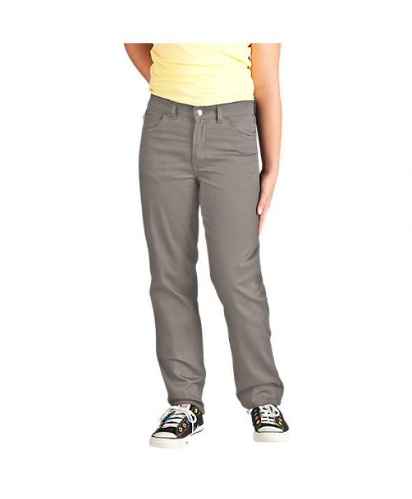 Dickies girl's pants KP560SV - Silver