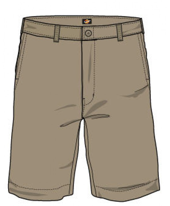 Dickies boy's shorts KR0700DS - Desert Sand