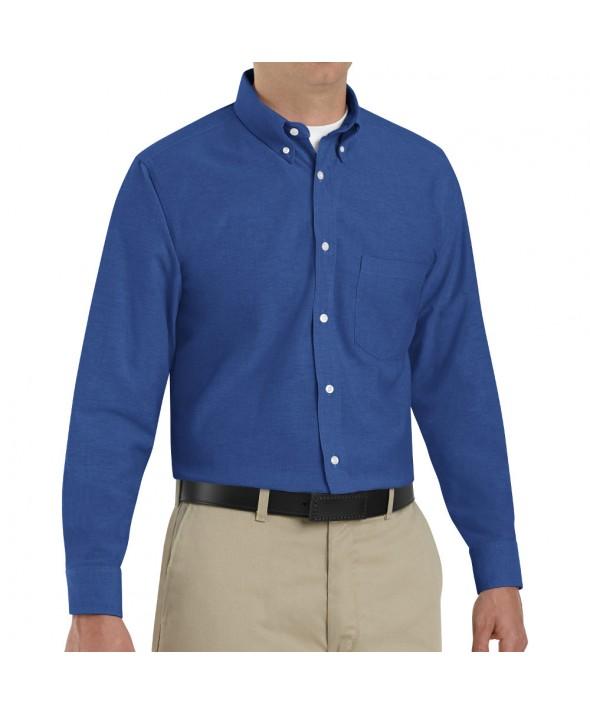 Red Kap SR70FB Mens Executive Oxford Dress Shirt - French Blue