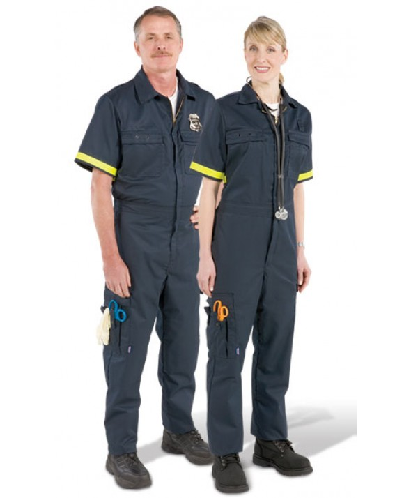 Pro-Tuff PC04 Emergency Medical Services Garments Men's Metro Style One-Piece Uniform