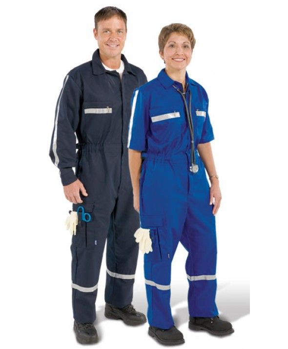Pro-Tuff PC05 Emergency Medical Services Garments Men's Short Sleeve One-Piece Uniform Suit