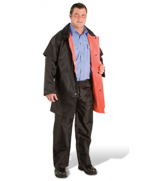 Pro-Tuff RW17 Law Enforcement Reversible Hip-Length Rain Jacket