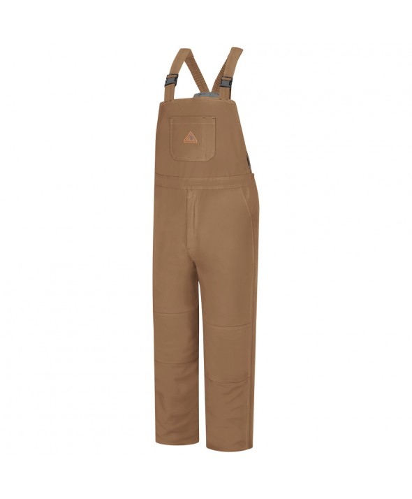 Bulwark BLN4BD Brown Duck Deluxe Insulated Bib Overall EXCEL FR ComforTouch - Brown Duck