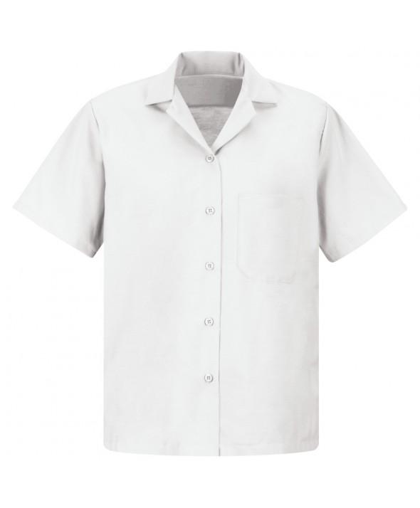 Red Kap SP65WH Womens Uniform Blouse - White