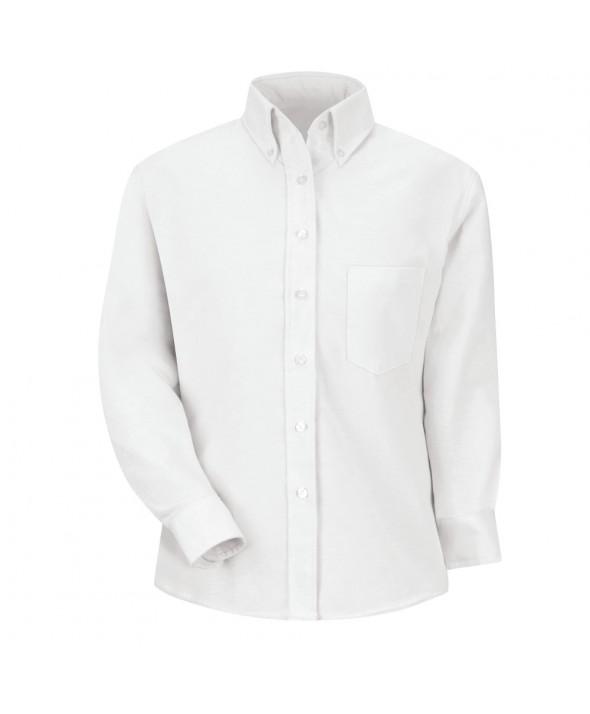 Red Kap SR71WH Womens Executive Oxford Dress Shirt - White