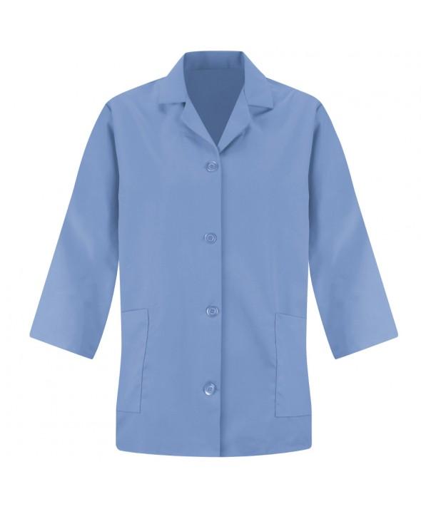 Red Kap TP31LB Womens Smock Sleeve - Light Blue