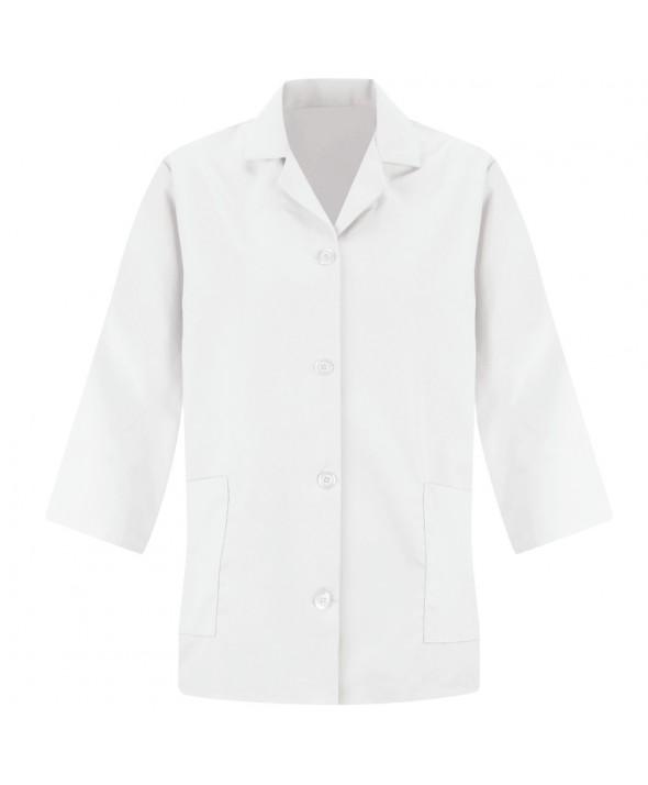 Red Kap TP31WH Womens Smock Sleeve - White