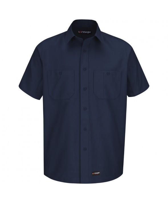 Wrangler Workwear WS20NV Work Shirt - Navy