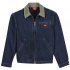 Dickies men's jackets 780SDD - Stonewashed Dark Indigo