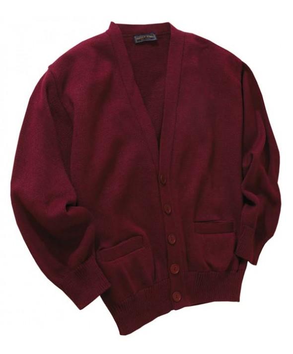 Edwards Garment 350 V-Neck Cardigan Sweaters