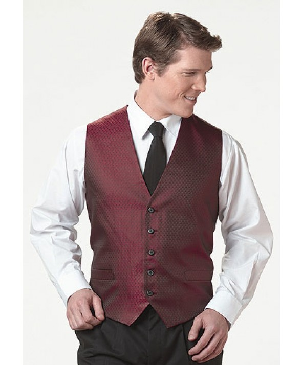 Edwards Garment 4390 Men's Brocade Diamond Vest