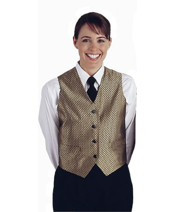 Edwards Garment 7390 Women's Brocade Diamond Vest