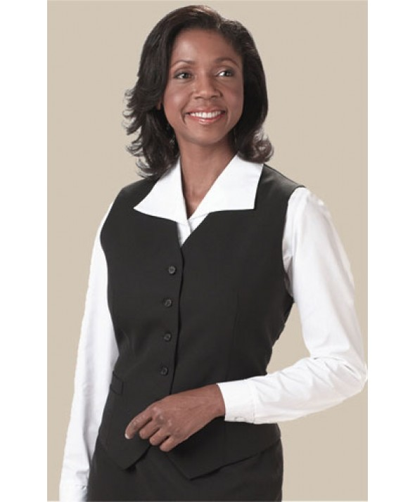 Edwards Garment 7680 Women's High Button Vest