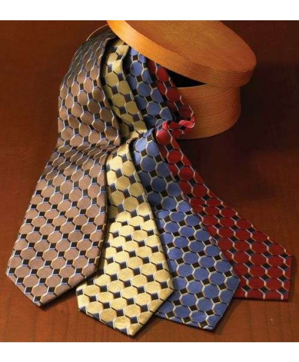 Edwards Garment HC00 Men's Signature Tie - Honeycomb