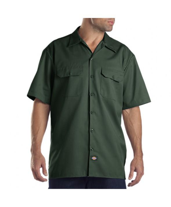 Dickies men's shirts 1574GH - Hunter Green
