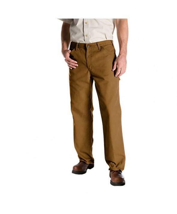 Dickies men's jean 5 pkt/paint/utility 1939RBD - Rinsed Brown Duck