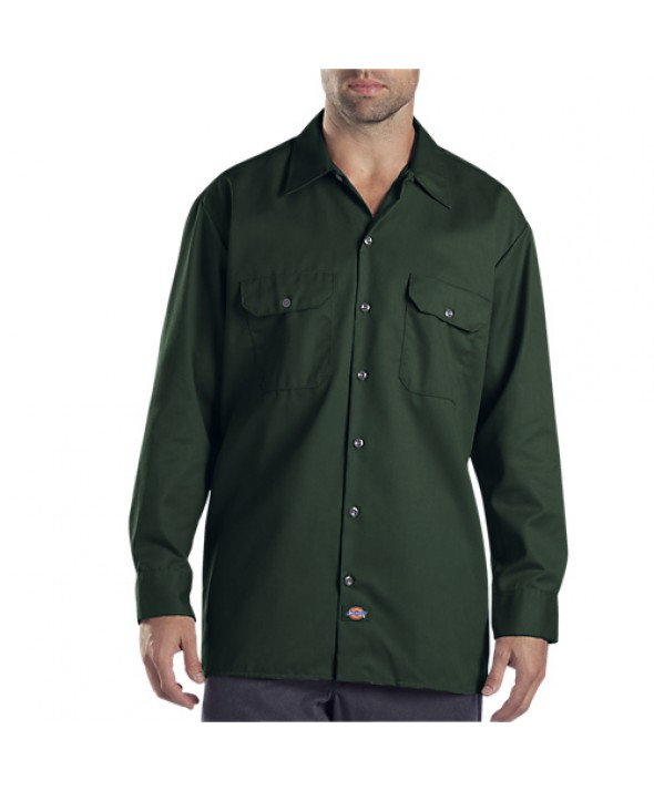 Dickies men's shirts 574GH - Hunter Green