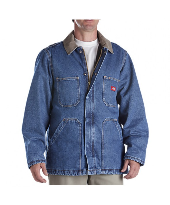 Dickies men's jackets 77293SNB - Stonewashed Indigo Blue