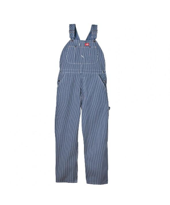 Dickies men's bib overalls 83297HS - Hickory Stripe