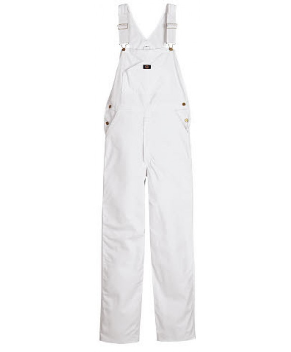 Dickies men's bib overalls 8953WH - White