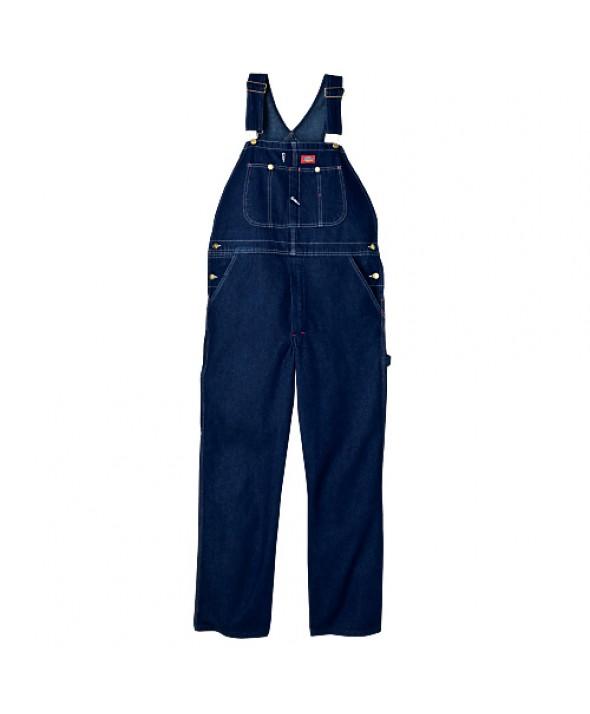 Dickies men's bib overalls DB100RNB - Rinsed Indigo Blue